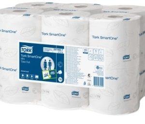 Туалетная бумага в мини рулонах Tork SmartOne 472193